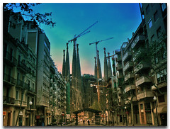 Sagrada Familia. Barcelona.- (ancama_99(toni)) Tags: street leica old city urban espaa house holiday color building art history church familia arquitetura architecture buildings geotagged temple lumix photography photo spain arquitectura edificios espanha europa europe cityscape cross cathedral photos religion bcn edificio cityscapes modernism photographic catalonia structure panasonic artnouveau gaudi temples gaud artdeco sagradafamilia 2008 espagne sagrada modernismo templo barcellona catalua catalan spanien barcelone spagna modernisme pasoscatalans urbanas 1000views urbanscapes catalogne belleepoque 25favs fz7 dmcfz7 25faves mywinners aplusphoto holidaysvacanzeurlaub theunforgettablepictures ladretadeleixample