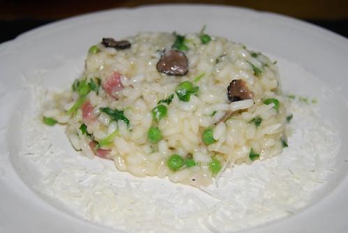 risotto met Parmezaanse kaas en truffel
