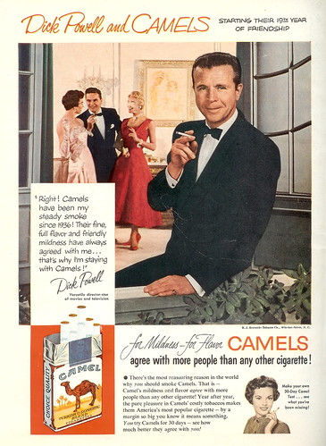 Camel - Dick Powell - 1954 (by senses working overtime)