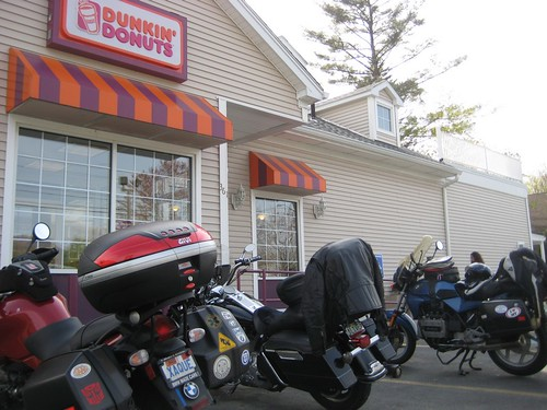 Bikers and Donuts