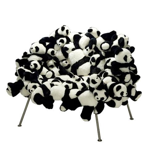 Stuffed Panda Chair