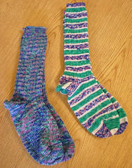 Terry's yarn, as socks