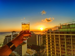 Toast to a great trip (/\ltus) Tags: hawaii raw pentax waikiki hdr sigma1020mm 200805 1xp k20d