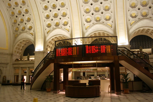 Union Station entrance
