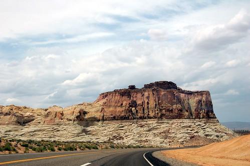 AZ 89 Entering Utah
