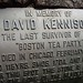 David Kennison Plaque