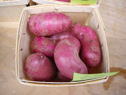 Red Thumb Potatoes from Arbor Hill Organics