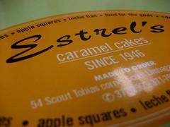 Estrel's Caramel Cakes Tag