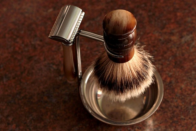 EJ Brush and Double Edge Razor