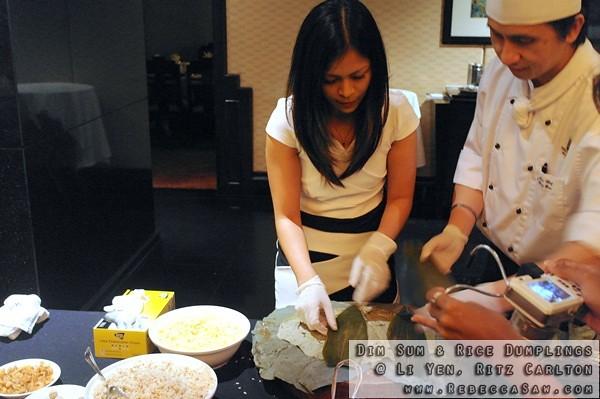 Dim Sum N Rice Dumplings At Li Yen Ritz Carlton-18