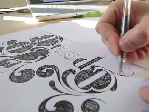 Typography by FIODOR via opera78_3