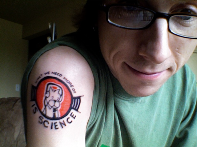 Nerdy Tattoos Ahoy. posted by Chris on October 7, 2007 2:01 PM in Comics,