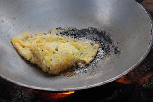 wok omelette
