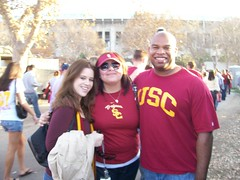 kattie, me, jesse, and the coliseum