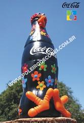 Coc-Cola Tradicional (POLEIRO DE CORES) Tags: cores toy galinha handmade artesanato biscuit cabaa toyart porongo poronga