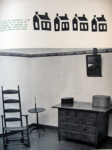 shaker furniture. L'Oeil (1961)