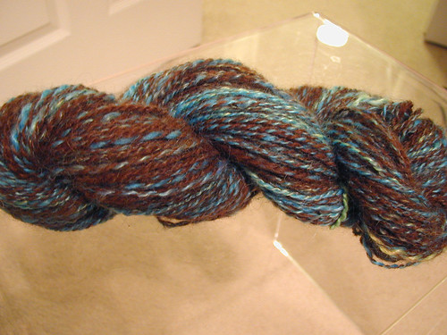 Mohair/Alpaca Superwash Handspun
