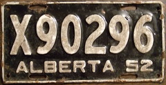 ALBERTA 1952 (X) RESTRICTED COMMERCIAL VEHICLE large (X) Type (woody1778a) Tags: world auto signs canada history cars car sign truck vintage edmonton photos antique tag woody plate tags licenseplate collection number photographs alberta license historical plates foreign oddball numberplate licenseplates numberplates licenses rarity cartag carplate carplates autotags cartags autotag foreigns pl8s worldplates worldplate foreignplates platetag albertahistory restrictedcommercial