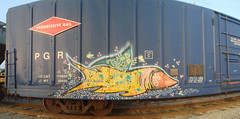 Duece7 (ikeya 1421) Tags: california ca railroad urban streetart art metal yard train graffiti la sketch rust paint track artist streak drawing tag graf stock over tracks picture rail riding railcar writers rails gondola writer locomotive boxcar written palimpsest streaks oc 27 hobo hopper along railfan freight rolling hopping solid freighttrain freights sprayed flatcar rxr monikers moniker paintstick hobotag hobomoniker benching freighthoppers duece7 freighthopper whylickafrogwhenyoucanlickmyfish