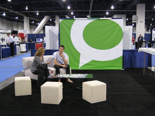 Technorati at Blogworld Expo Show Floor