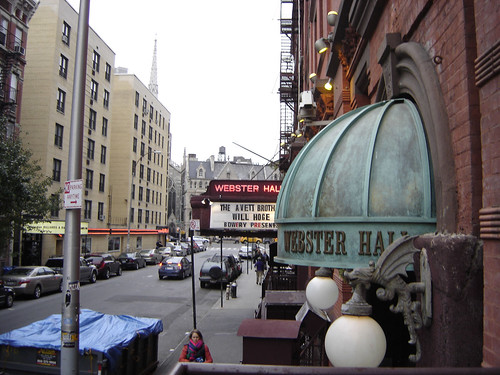 Webster Hall and 11th St.