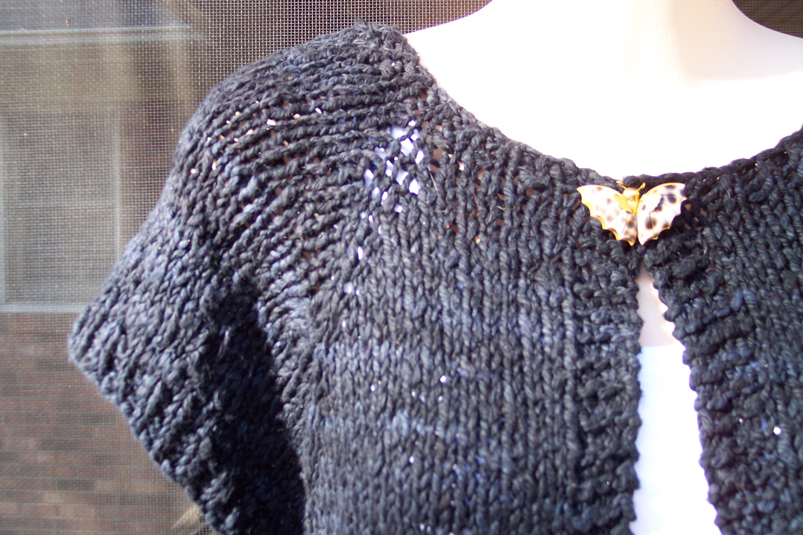 Knitting Patterns Shrugs : Knitting patterns for shrugs for toddlers :: [crochet shrug pattern]