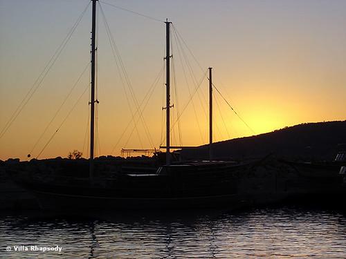 Kalkan at sunset