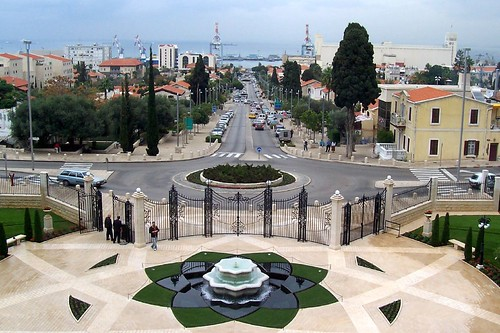 Haifa, German Colony, from Bahai Garden