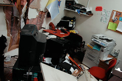 CCC offices smashed by truck-2.jpg