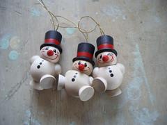 berliner snowmen trio