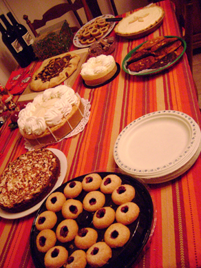 some of the dessert pies