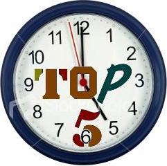 Logo Top 5 a las 5