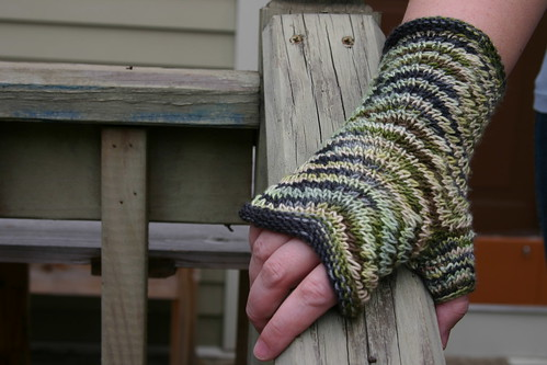 Chevron mitt in action