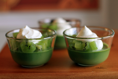 Green Tea Pudding