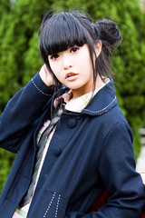 Akina (swanky) Tags: portrait people woman cute girl beautiful beauty canon asian eos md model women pretty taiwan 85mm babe belle taipei   2008 taiwanese   30d    shihlin  akina    photoimage canonef85mmf18usm  nationaltaiwanscienceeducationcenter   ntsec emiruemirue  mtv mtv ak