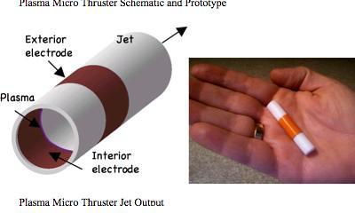 plasma micro thruster UAV