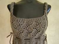 romantic lace cable top 2 (apples and aspen) Tags: knitting inspirations