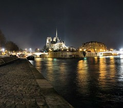Cathdrale Notre-Dame de Paris - 26-01-2008 - 21h40 (Panoramas) Tags: light panorama paris france reflection church seine night river de point geotagged lights noche la cathedral nacht lumire perspective iglesia kirche notredame chiesa cathdrale noite fv10 vanishing nuit reflets quai notte eglise hdr lumires ptassembler gece kathedral   tournelle fuite  glise etiennecazin   smartblend   tiennecazin  geo:lat=48851042 geo:lon=2352898