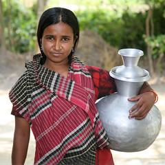 Bangla village girl. (Greg Miles) Tags: bangladesh mywinner platinumphoto diamondclassphotographer 6millionpeople