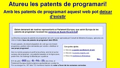 Patents programari Softcatalà