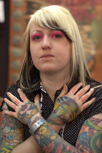 The 13th Annual Motor City (Set) · Womans with Tattoo and Goth (Group)