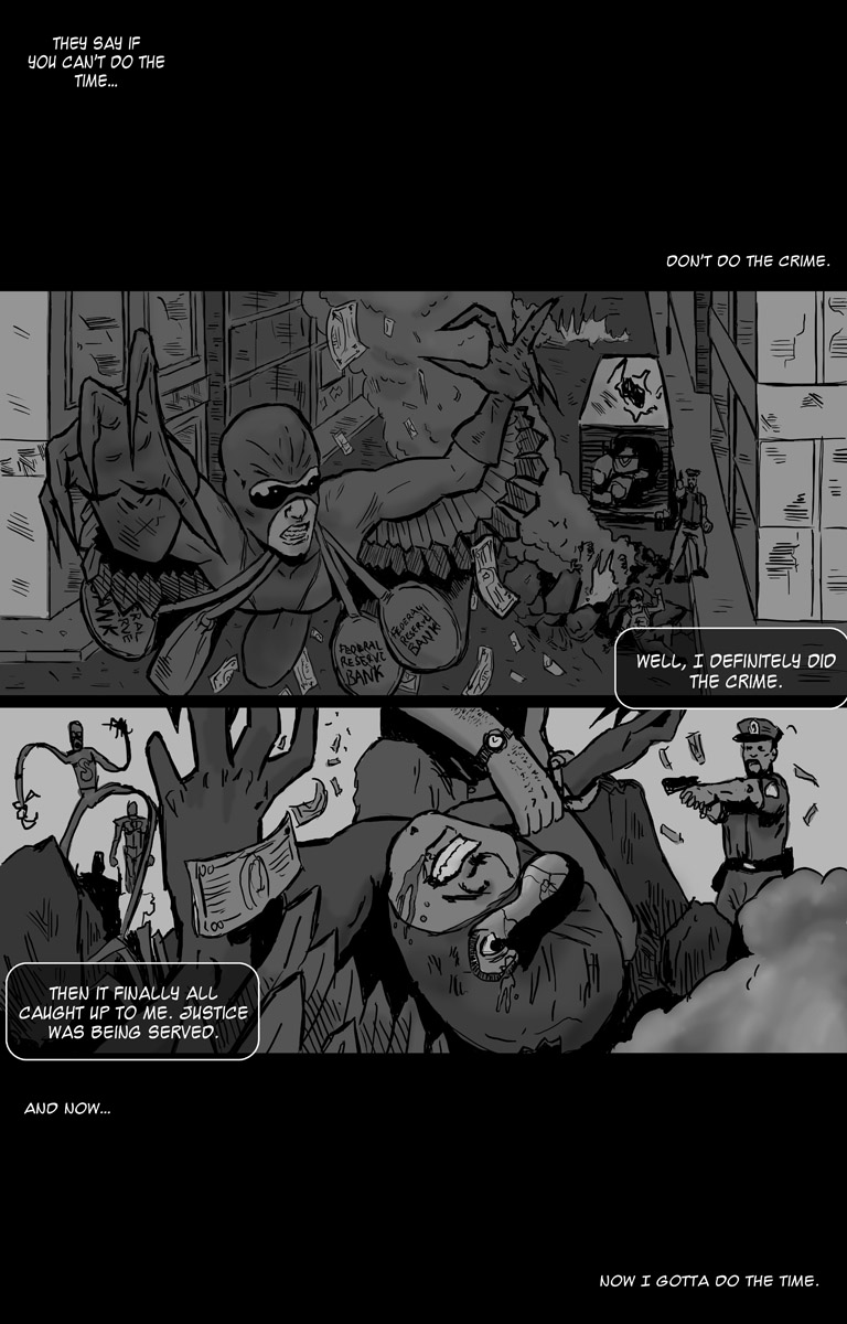 THE GRAVE Issue 1 Part 1 Page 1 by Geoffrey D. Wessel + Michael Bramley