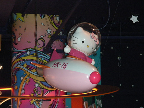 hello kitty rocket