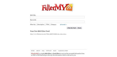 FilterMyRSS