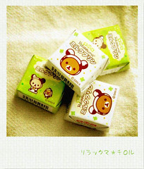 Rilakkuma (Honeytea) Tags: japan polaroid tirol chocolate fake  rilakkuma