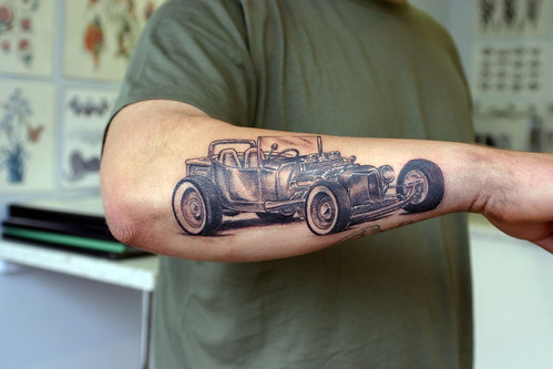 Model T Ford Tattoo by The Tattoo Studio