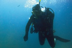 DSCF0833_curved_filtered (zell0ss) Tags: underwater diving submarinismo calacerrada bajoelagua laazoha zell0ss clubcormoran