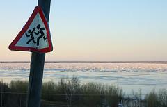 keep out (junior_z) Tags: ice river spring icedrift lenariver siberianriver