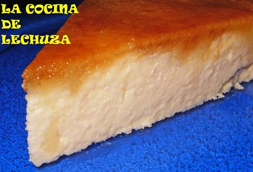 Tarta queso quark - detalle porción