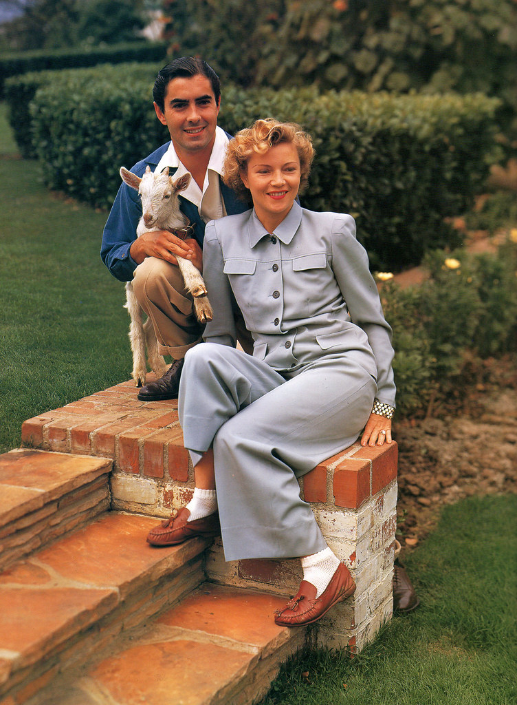 Tyrone Power & Annabella
